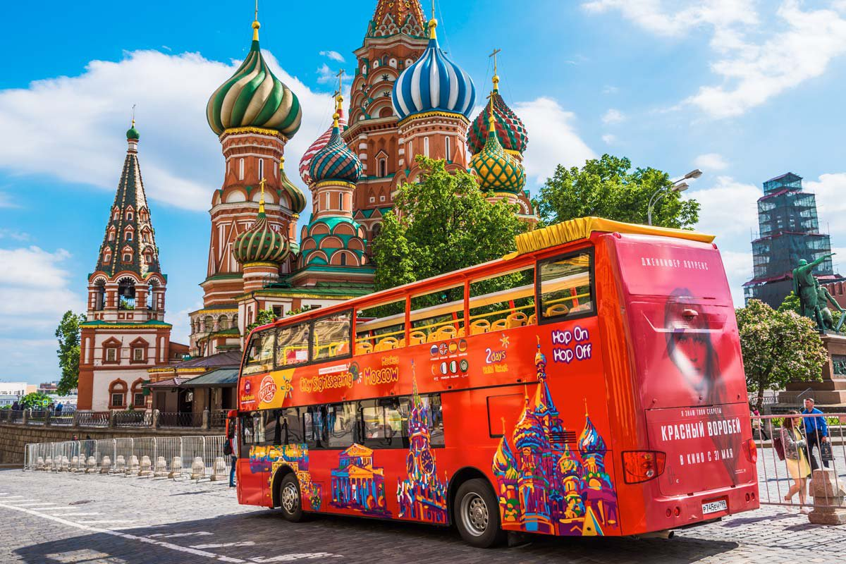 Bus tour in Moscow: Hop-on Hop-off